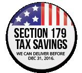 Section 179 Tax Savings