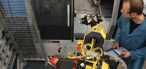 DMG MORI ELLISON Technologies Robotic Automation